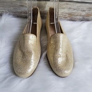 Aerosoles Betunia Sequin Slip On Loafer Flats